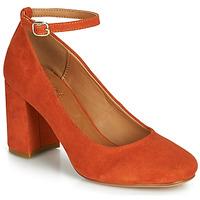 Sapatos Mulher Escarpim André LAURIA Laranja