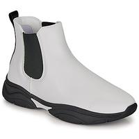 Sapatos Mulher Botas baixas André BILLIE Branco