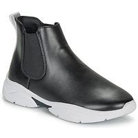 Sapatos Mulher Botas baixas André BILLIE Preto