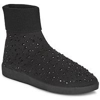 Sapatos Mulher Sapatilhas de cano-alto André BAYA Preto