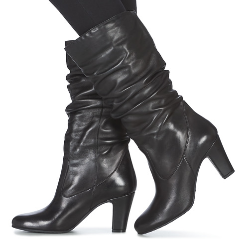 André LALALY Preto - Entrega gratuita- Sapatos Botas baixas Mulher 89