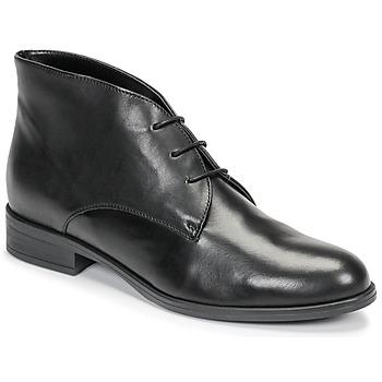 Sapatos Mulher Botas baixas André EMILIE Preto