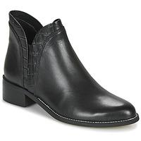 Sapatos Mulher Botas baixas André NATHO Preto
