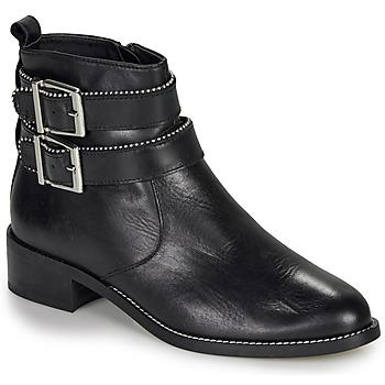 Sapatos Mulher Botas baixas André LOTUS Preto