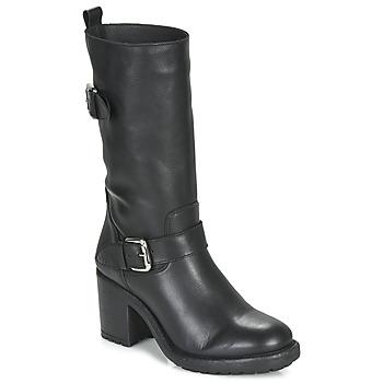 Sapatos Mulher Botas André NASHVILLE Preto
