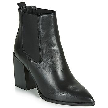 Sapatos Mulher Botas baixas André NINETTE Preto
