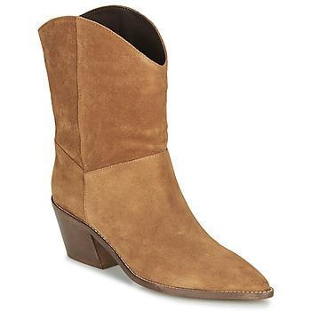 Sapatos Mulher Botins André MINNESOTA Camel