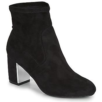 Sapatos Mulher Botas baixas André LAUGHING Preto