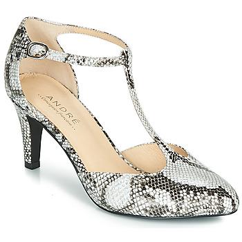 Sapatos Mulher Escarpim André FALBALA Bege