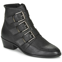 Sapatos Mulher Botas baixas André ERNA Preto
