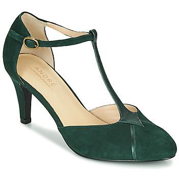 Sapatos Mulher Escarpim André LOUCIANE Verde
