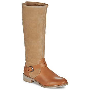 Sapatos Mulher Botas André ELIA Camel
