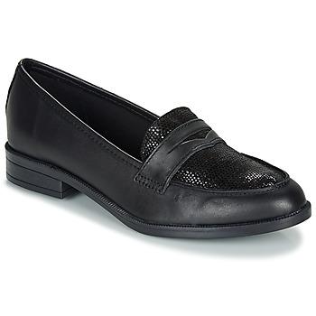 Sapatos Mulher Mocassins André EMERAUDE Preto