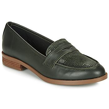 Sapatos Mulher Mocassins André EMERAUDE Verde