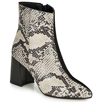 Sapatos Mulher Botins André L'INSOUCIANTE Preto