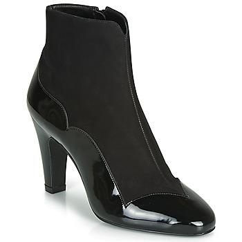 Sapatos Mulher Botins André LA ROMANTIQUE Preto