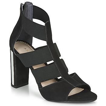 Sapatos Mulher Sandálias André LA  DETERMINEE Preto
