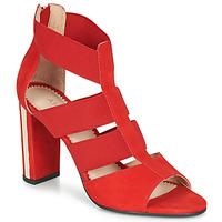 Sapatos Mulher Sandálias André LA DETERMINEE Vermelho