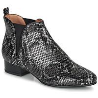 Sapatos Mulher Botas baixas André VERVEINE Cinza