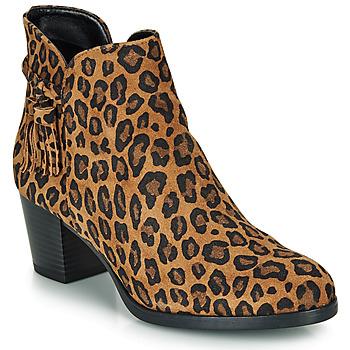 Sapatos Mulher Botins André MARYLOU Leopardo