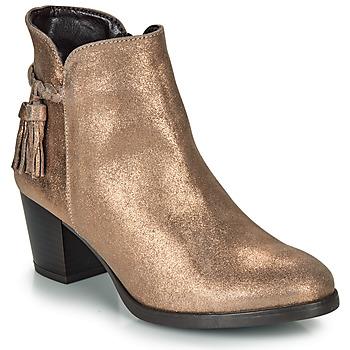 Sapatos Mulher Botins André MARYLOU Dourado