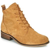 Sapatos Mulher Botas baixas André GODILLOT Bege
