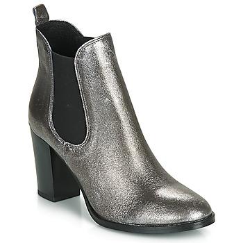 Sapatos Mulher Botins André CLAFOUTI Prateado