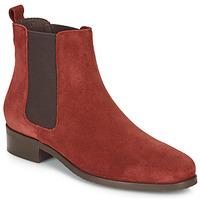 Sapatos Mulher Botas baixas André CHATELAIN Vermelho