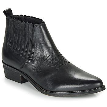Sapatos Mulher Botas baixas André MANA Preto