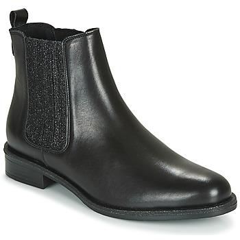Sapatos Mulher Botas baixas André LETKISS Preto