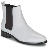 Sapatos Mulher Botas baixas André CARAMEL Branco