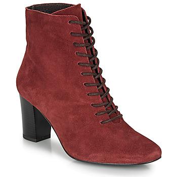 Sapatos Mulher Botins André MELUSINE Vermelho