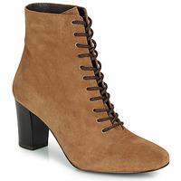 Sapatos Mulher Botins André MELUSINE Camel