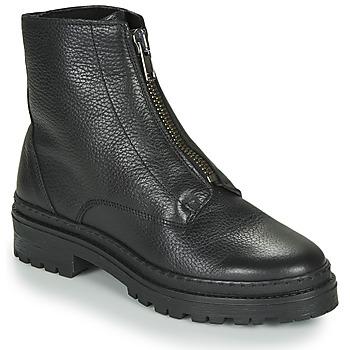 Sapatos Mulher Botas baixas André NAIS Preto