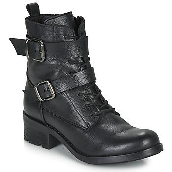 Sapatos Mulher Botas baixas André NIMA Preto