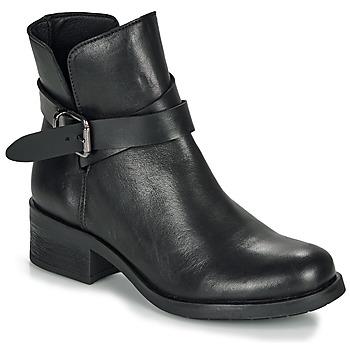 Sapatos Mulher Botas baixas André NELL Preto