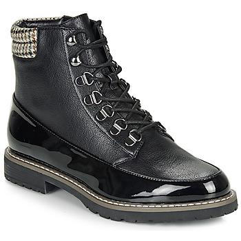 Sapatos Mulher Botas baixas André ELBROUZ Preto