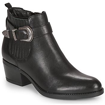 Sapatos Mulher Botins André MADAISY Preto