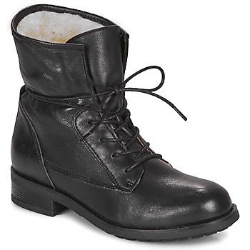 Sapatos Mulher Botas baixas André NETTY Preto