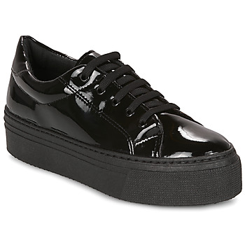 Sapatos Mulher Sapatilhas André SODA Preto / Verniz
