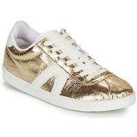 Sapatos Mulher Sapatilhas André SPRINTER Dourado