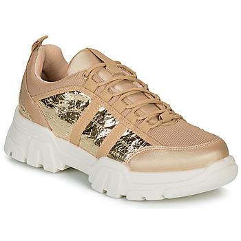Sapatos Mulher Sapatilhas André ALLEGA Dourado