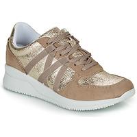 Sapatos Mulher Sapatilhas André ALLURE Dourado