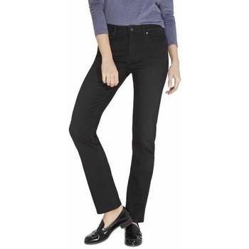 Textil Mulher Calças de ganga slim Lee Drew Real Black W24SCK81E blue
