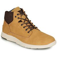 Sapatos Homem Sapatilhas de cano-alto André AVONDALE Camel