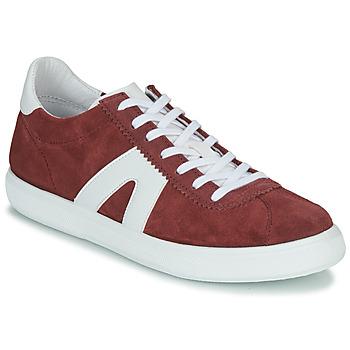 Sapatos Homem Sapatilhas André GILOT Bordô