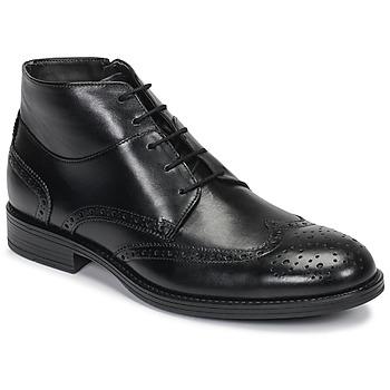 Sapatos Homem Botas baixas André LORMAND Preto
