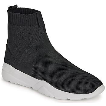Sapatos Homem Sapatilhas de cano-alto André LUNAIRE Preto