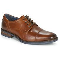 Sapatos Homem Sapatos André BYRON Conhaque