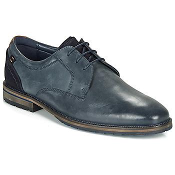 Sapatos Homem Sapatos André AIX Azul
